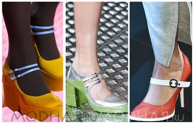 Модная обувь 2016 весна для женщин фото двойной ремешок