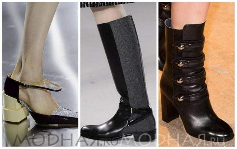 Модная обувь без каблука весна 2016 фото сапоги из кожи