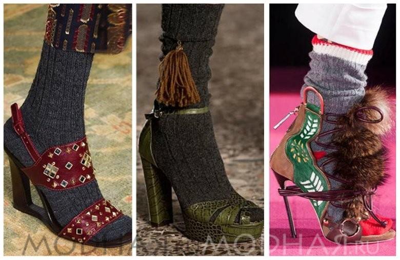 Модная обувь 2016 весной для женщин фото
