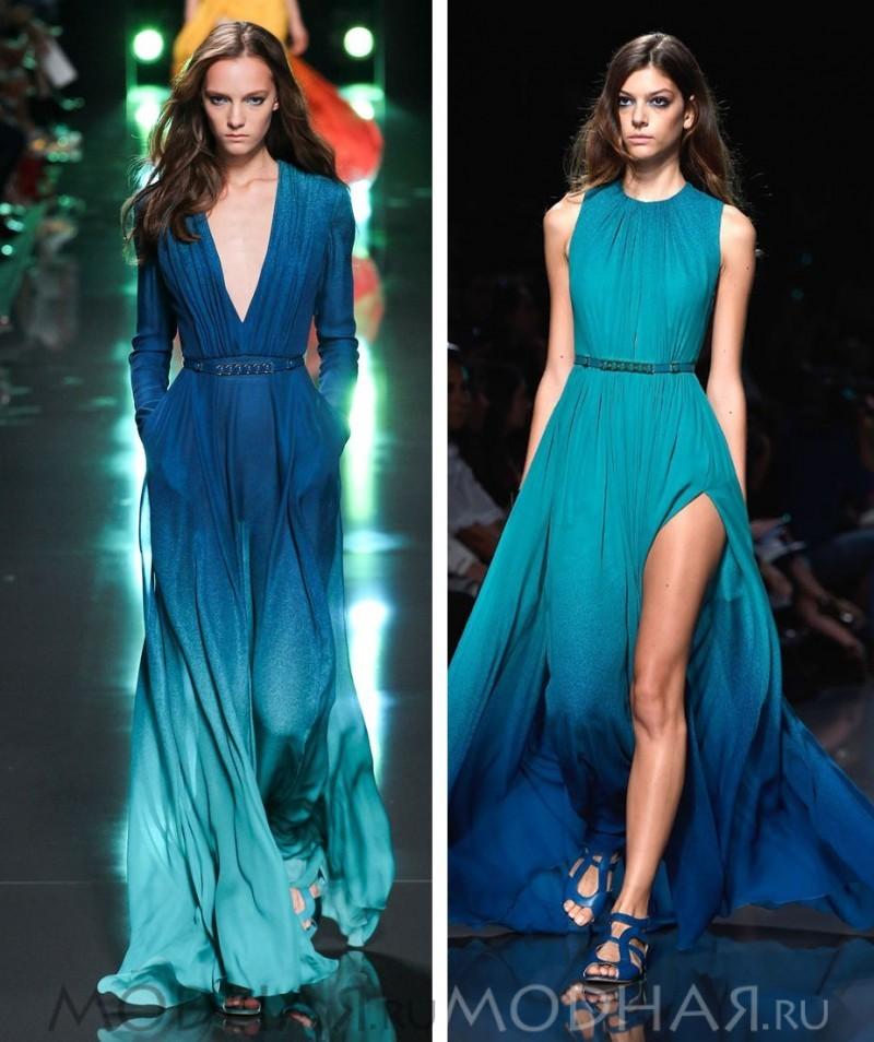 Модное платье весна лето