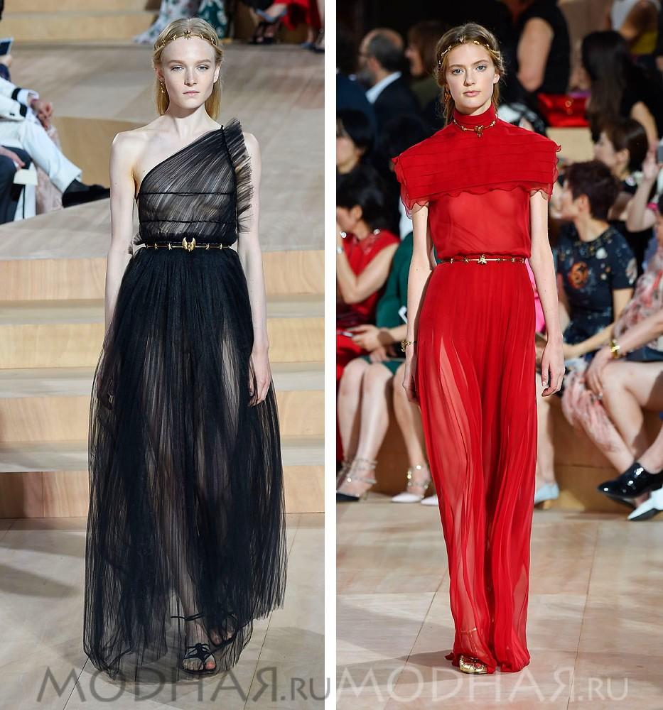 Модные Платья Весна 2017