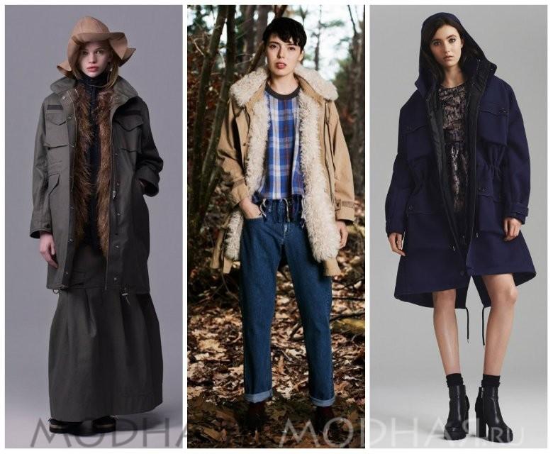 Модные куртки 2016 женские