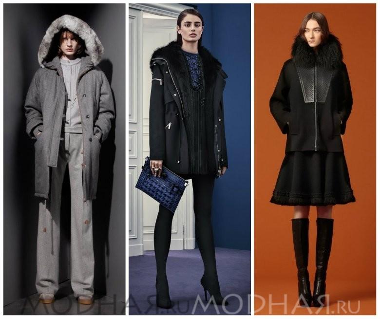 Модные женские куртки зима фото