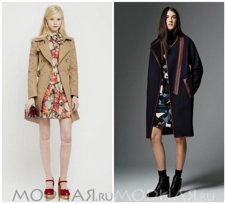 Пальто женское модное осень зима новинки