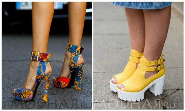 Какая обувь модная летом 2016 году фото