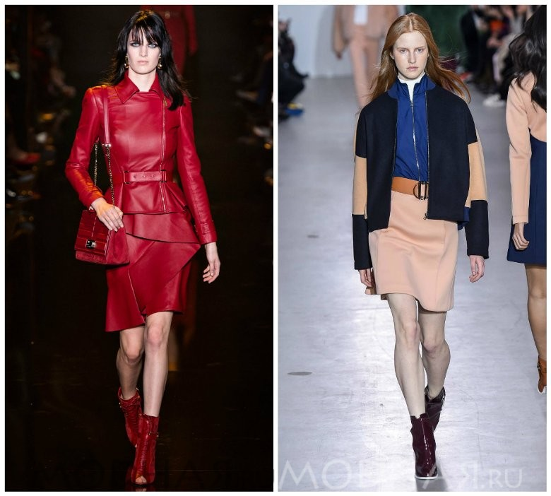 Красивая модная женская обувь осень зима 2015 2016