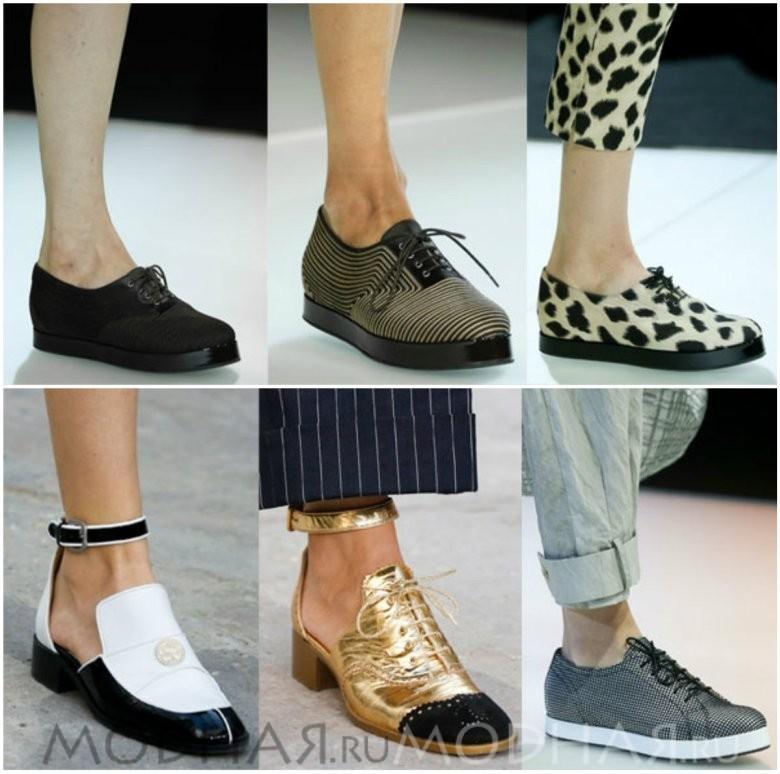 Модная обувь без каблука фото отчет