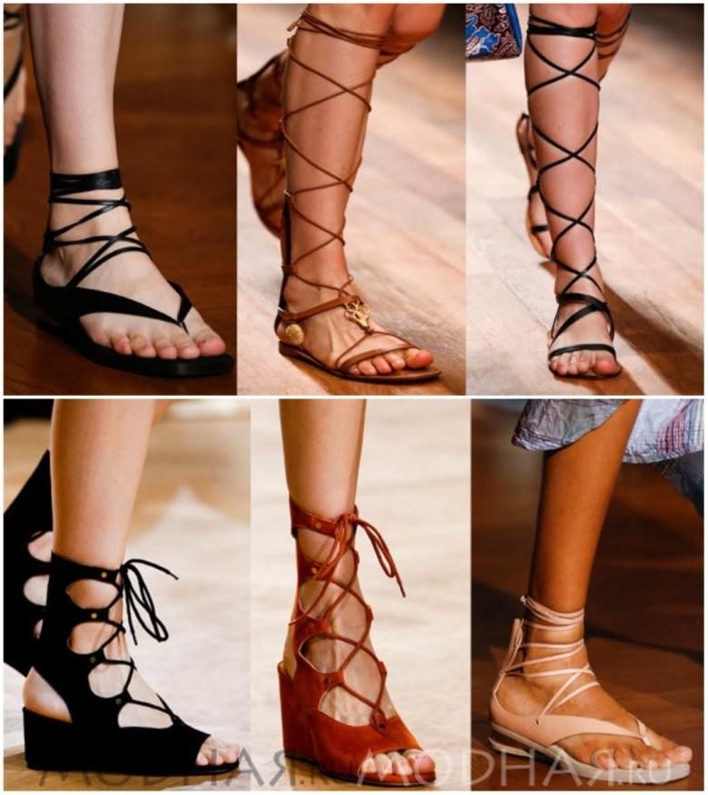Красивая модная обувь без каблука фото