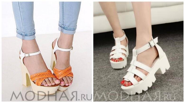 Смотрите какая модная обувь летом 2016 году фото