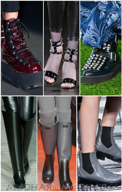 Модная женская обувь 2016 фото отчет