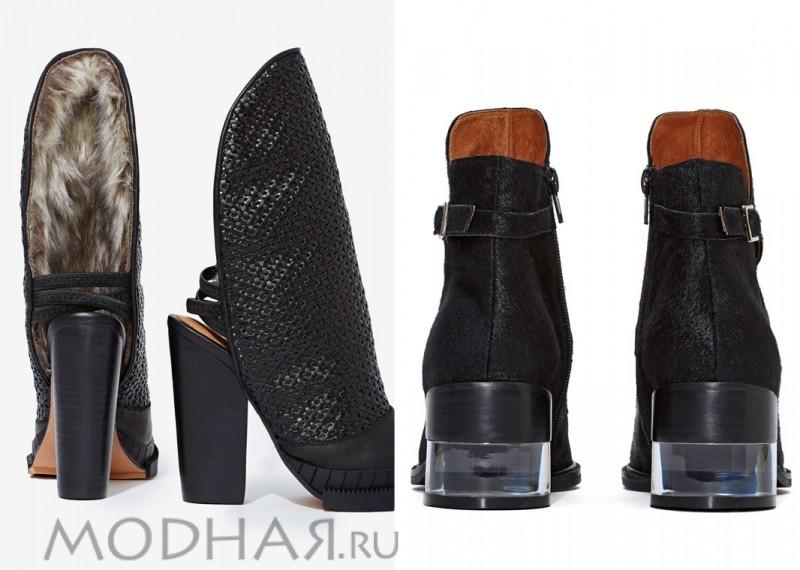 модная обувь зима 2016