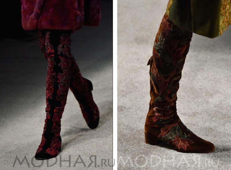 модная обувь 2016