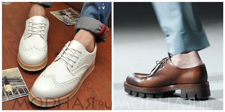 Модная мужская обувь лето 2016 фото модели ботинок