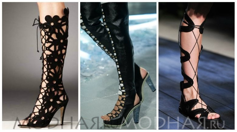Самая модная обувь лето