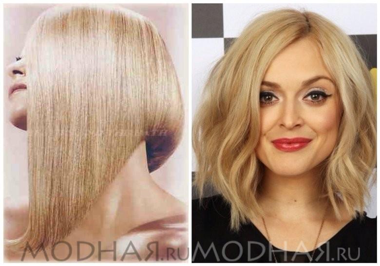 Модная стрижка 2016 женская на средние волосы фото