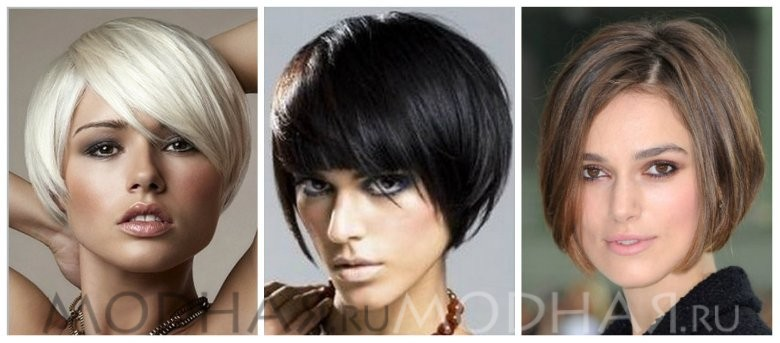 Стильные стрижки на короткие жидкие волосы
