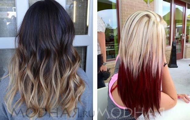 Красивая стрижка и окраска волос