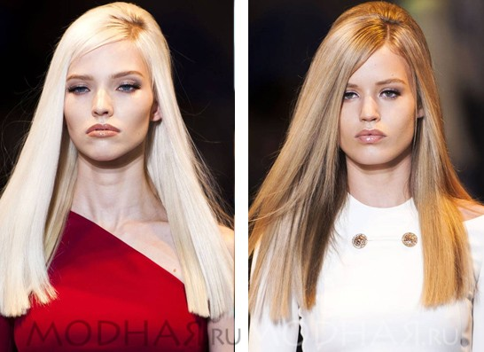 модные стрижки на 2016 на длинные волосы фото