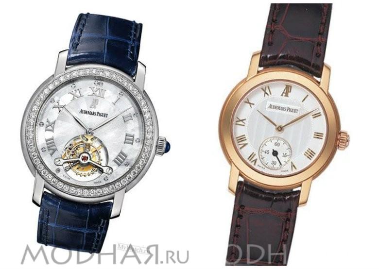 Швейцарские золотые часы женские