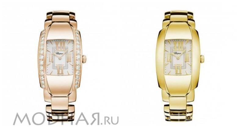 Часы женские наручные золотые фото
