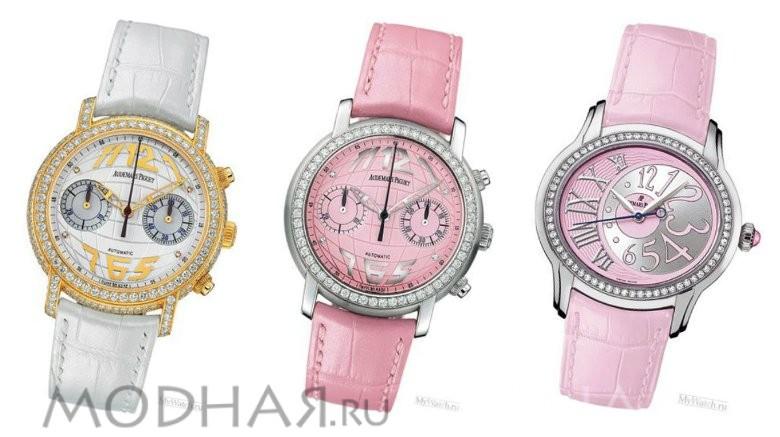 Швейцарские золотые часы: женские модели