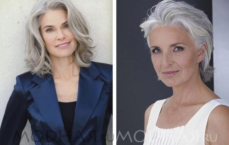 модные стрижки для женщин 40 лет