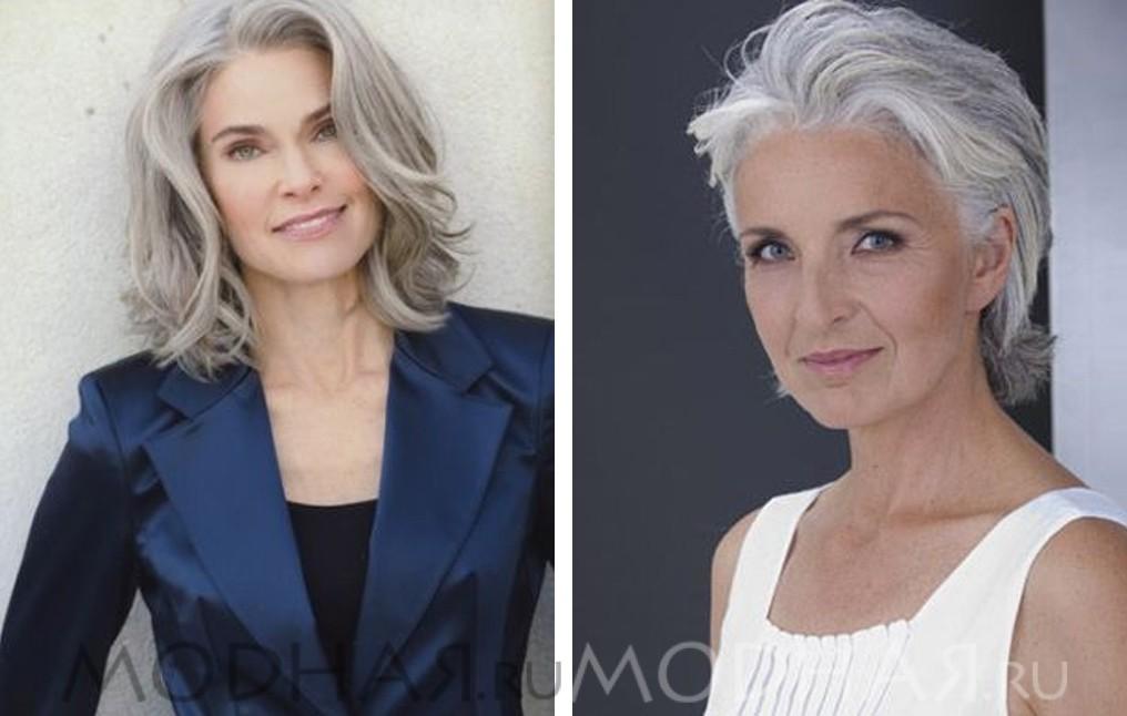 Стрижки для женщины за 40 лет картинки