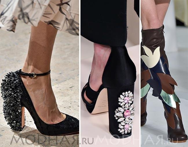модные тенденции весна лето 2016 обувь фото