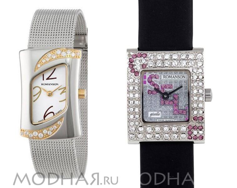 купить часы романсон женские