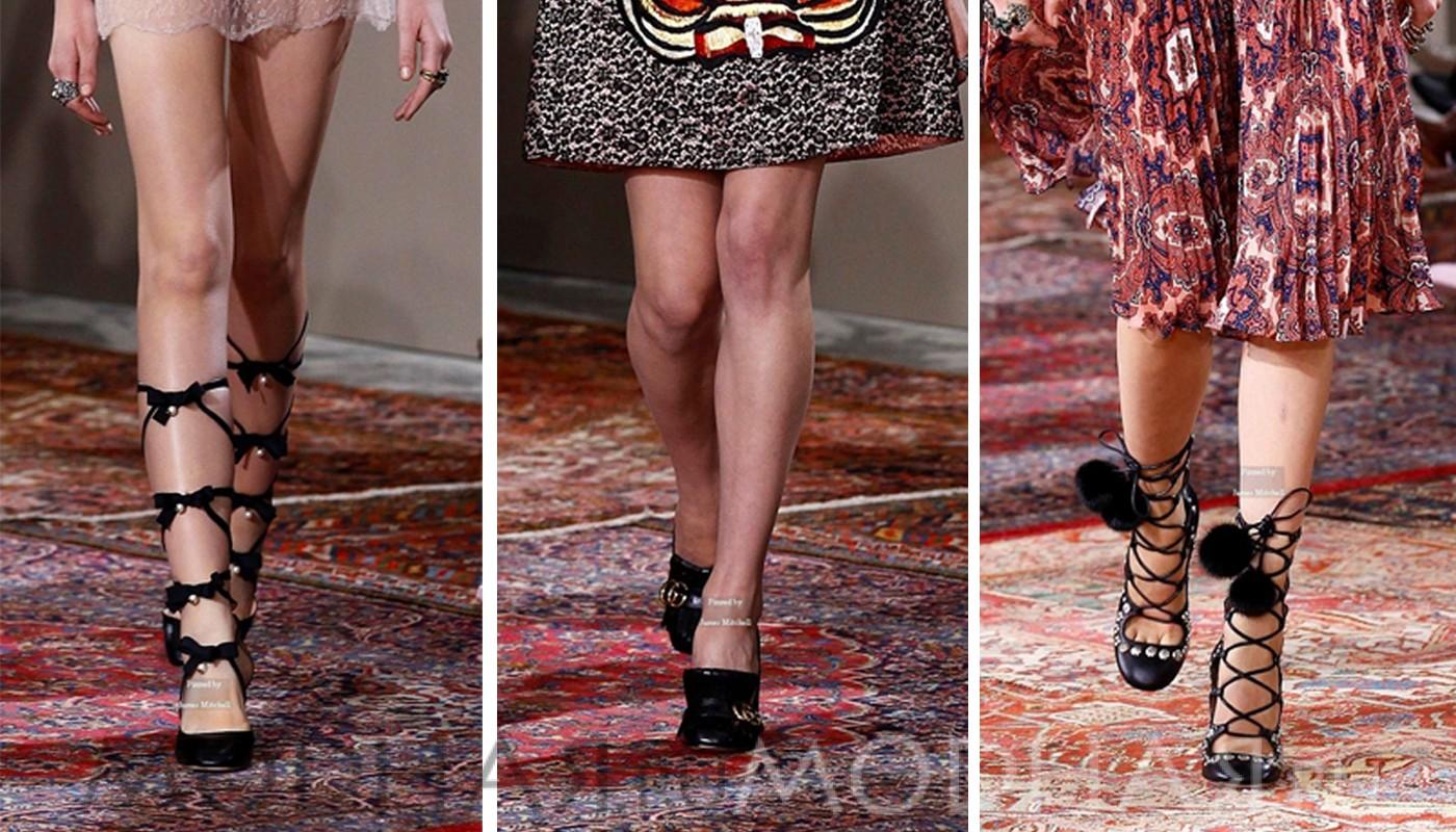60 ФОТО модной женской обуви весны – 2016