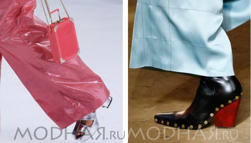 Фото модной женской обуви весны