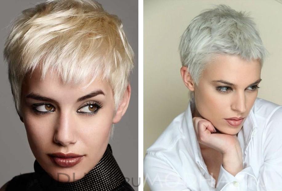 Женские стрижки на средние волосы фото с короткой челкой фото