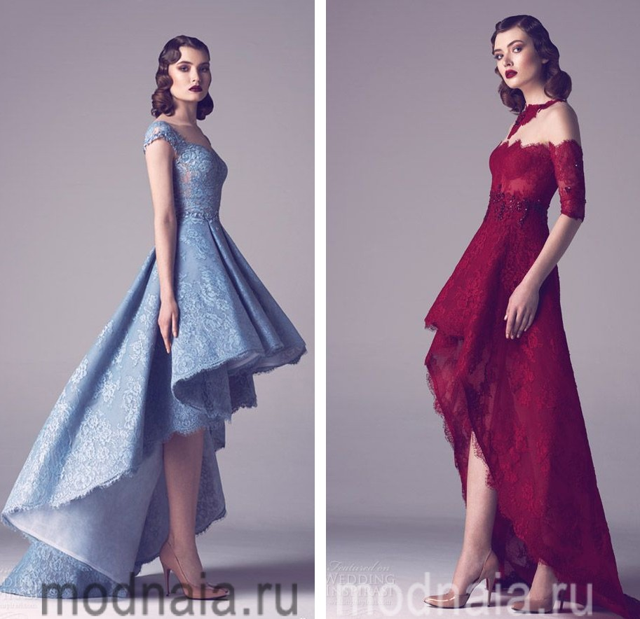 Выбор платья к выпускному