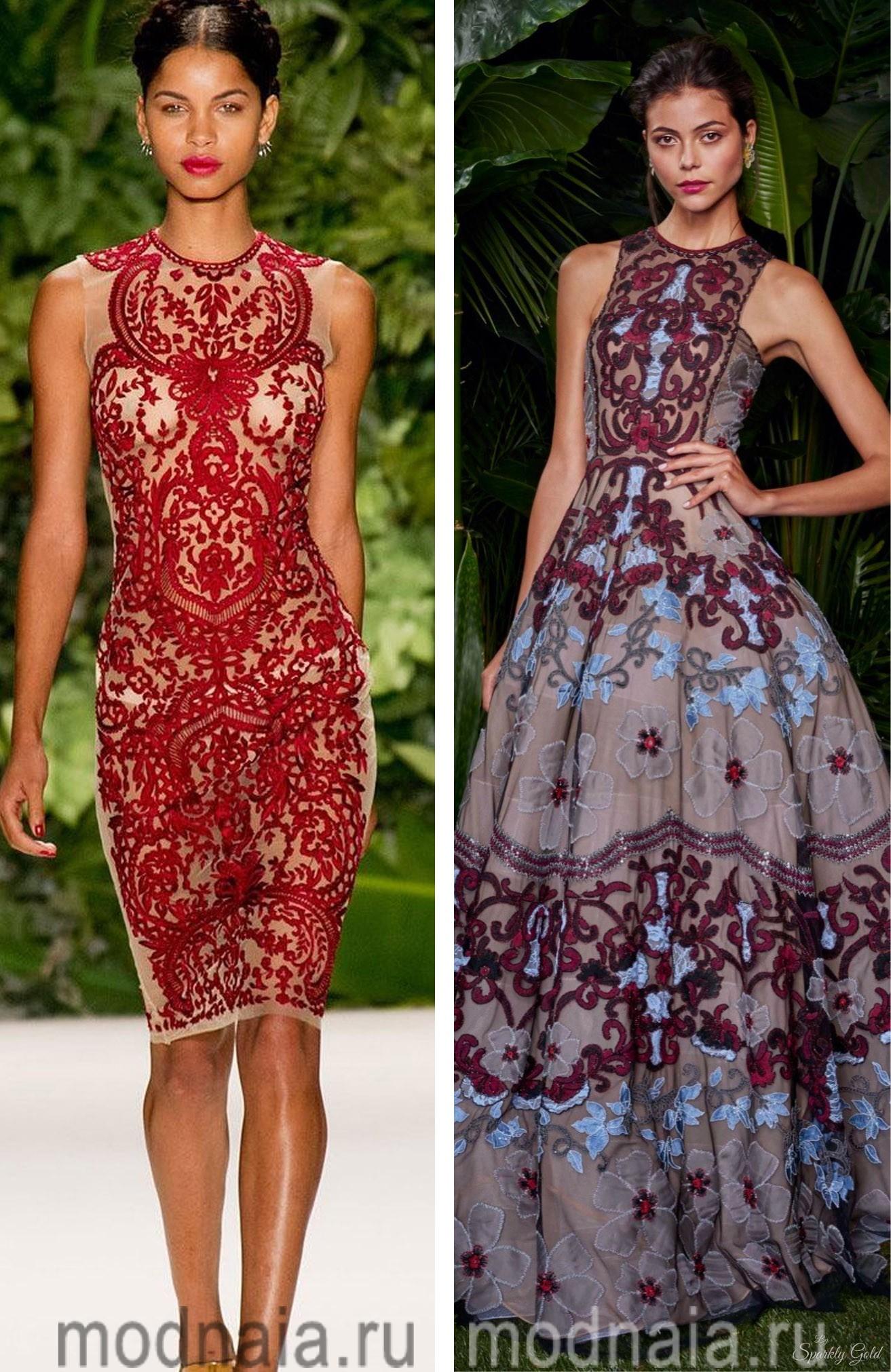 Вечерние платья на Новый год глазами ведущих модельеров мира