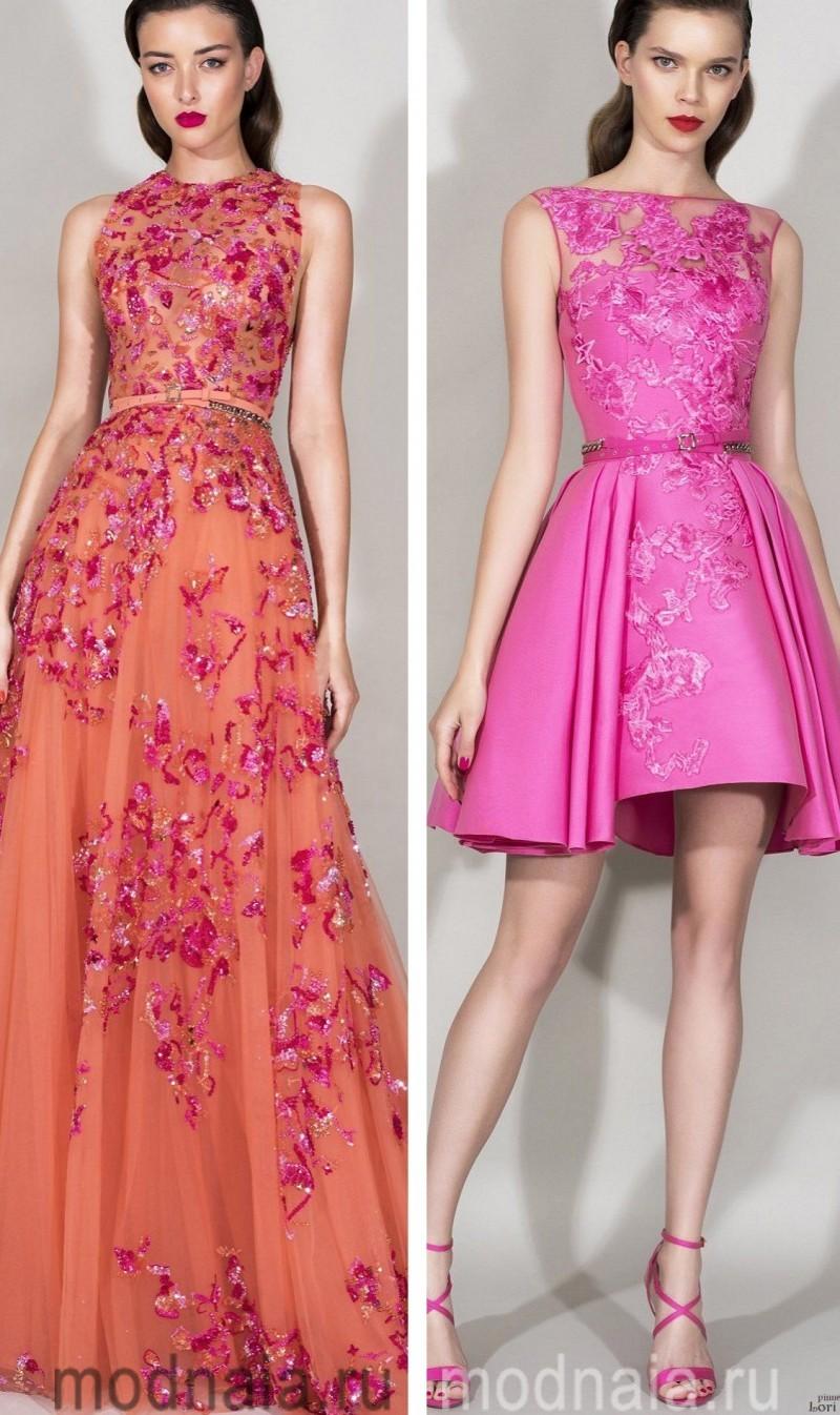 Вечерние платья на Новый год 10