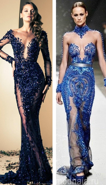вечерние платья на Новый 2017 год