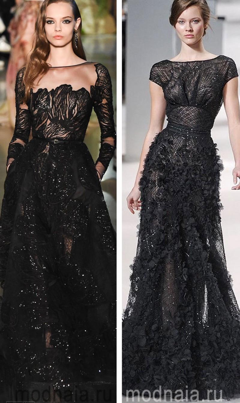 Вечерние платья на Новый год 11