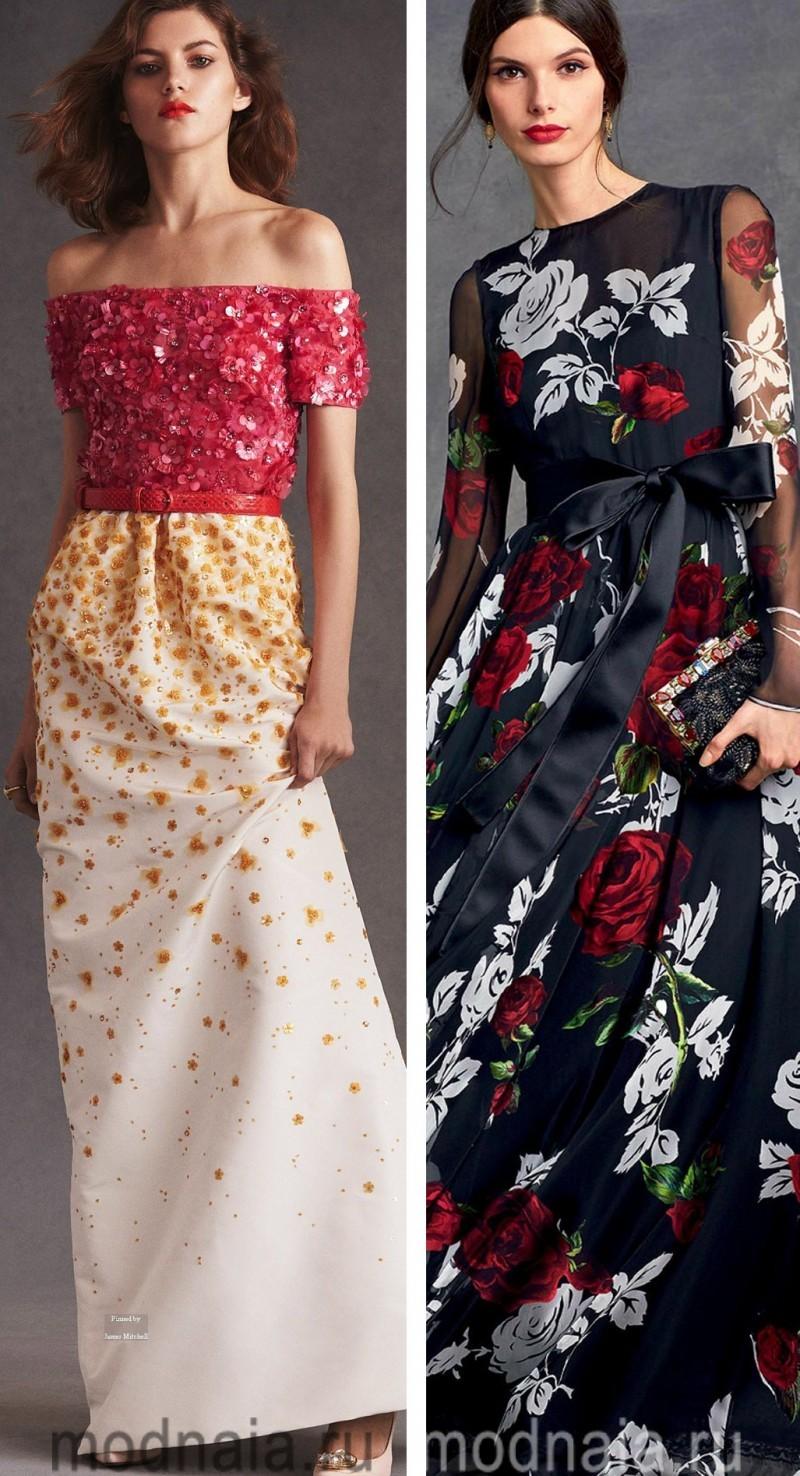 Вечерние платья на Новый год 13