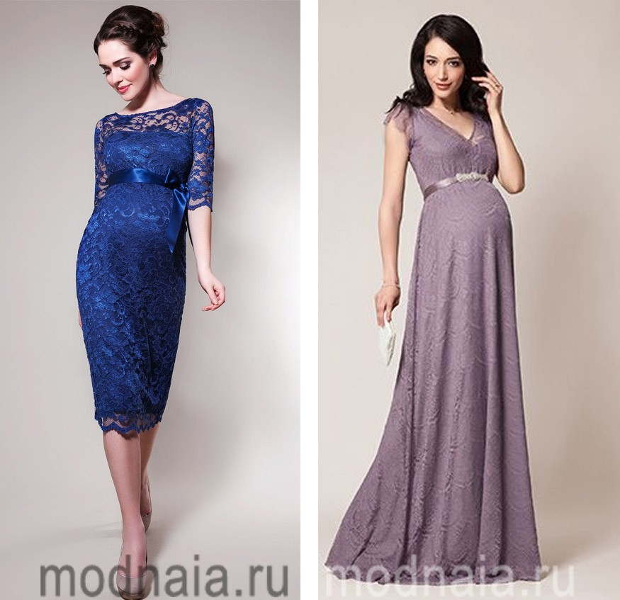 Платье для вечера беременным