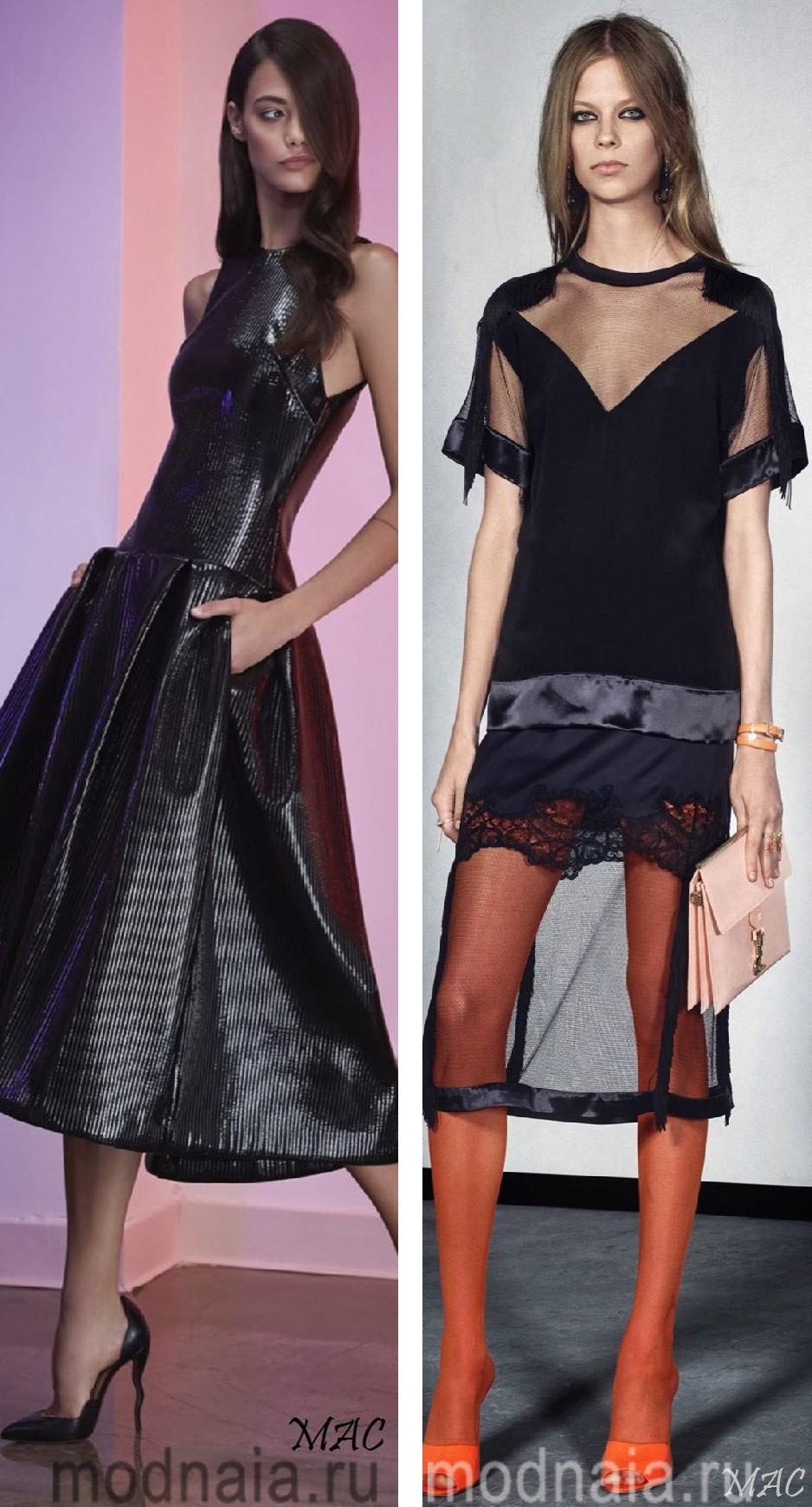 Выбираем вечерние платья на Новый год