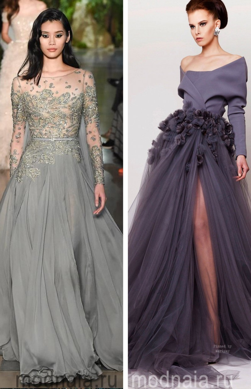 Вечерние платья на Новый год 4
