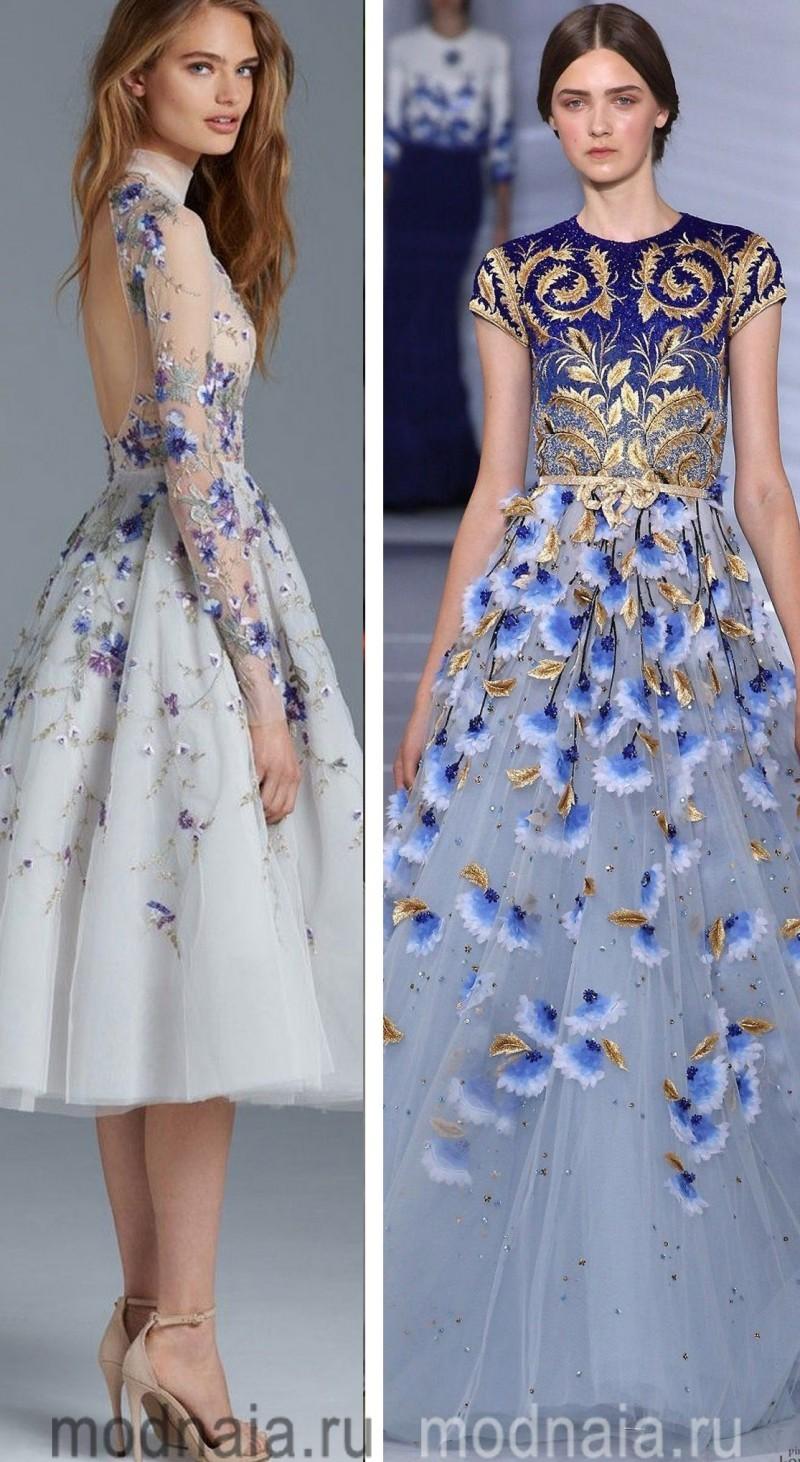Вечерние платья на Новый год 5