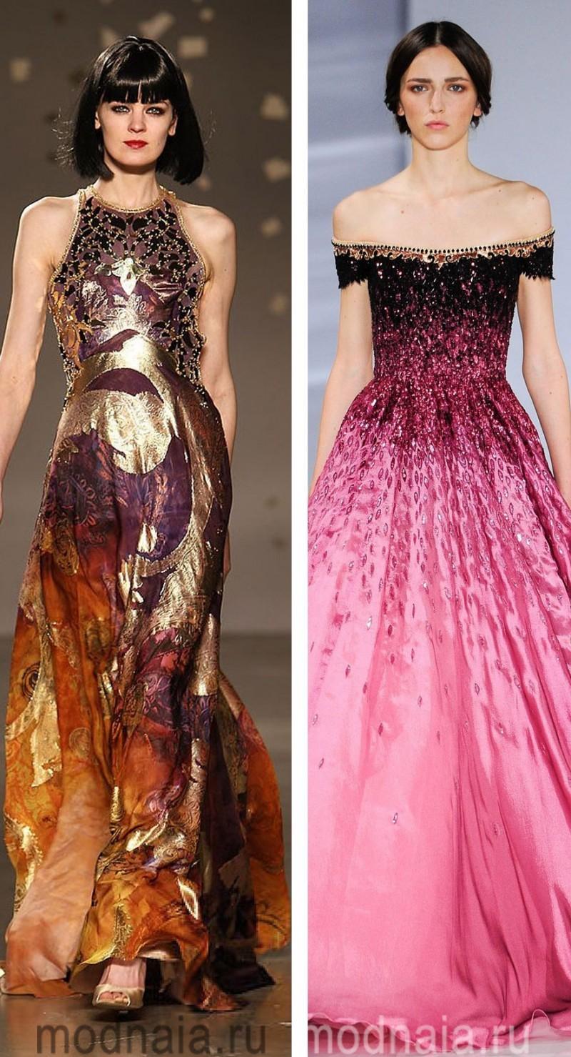 Вечерние платья на Новый год 6