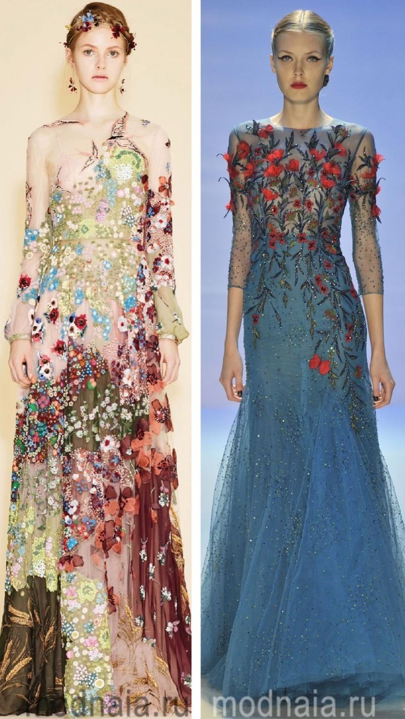 Вечерние платья на Новый год 7