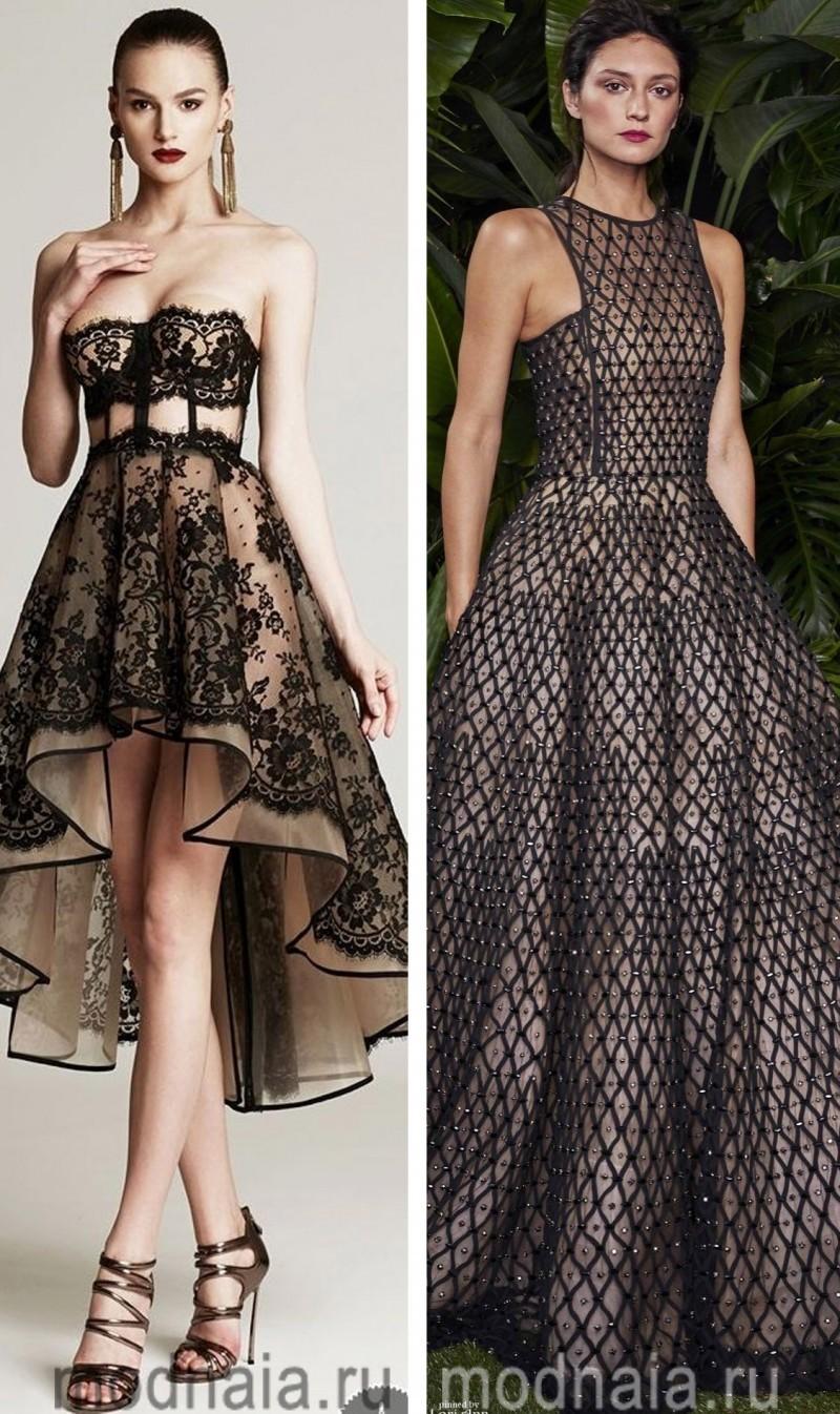 Вечерние платья на Новый год 9