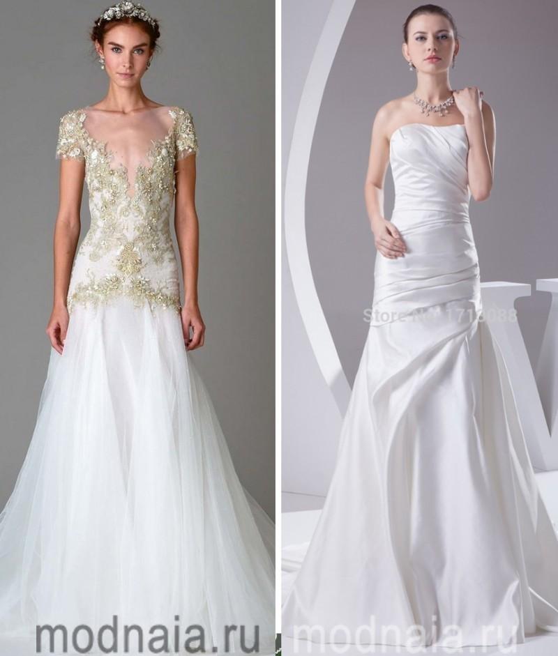 длинные вечерние платья белые