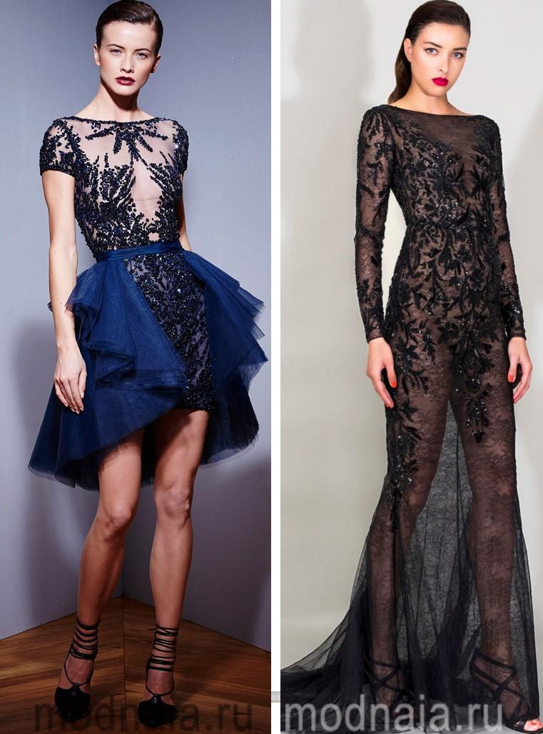 красивые вечерние платья