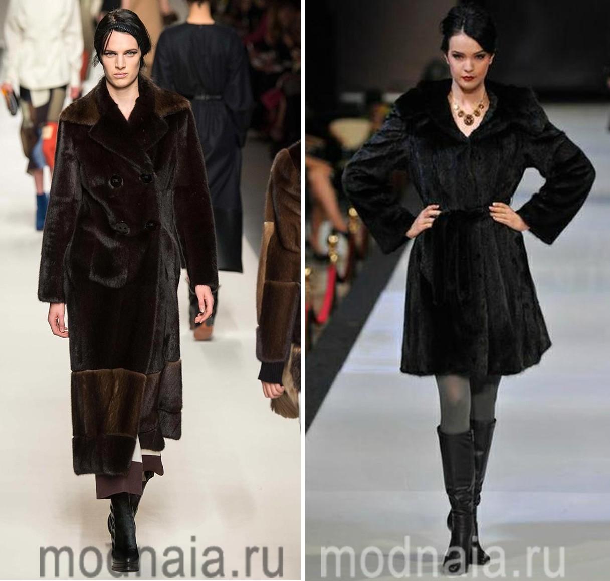 Модные Шубы 2017 Из Норки