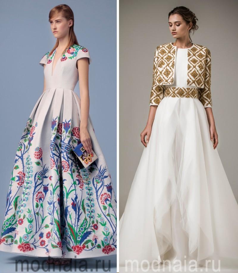 Вечерние платья новинки 2015