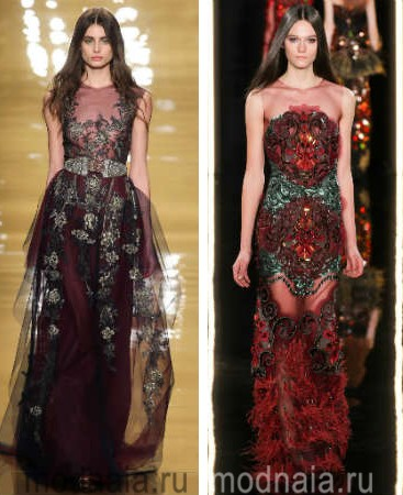 Модные вечерние платья 2016 фото, новинки